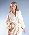 Women Short Kimono Cotton Bathrobe