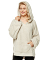 Womens Hooded Pullover Sweater